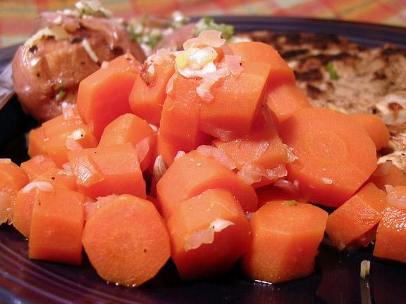 Garlic and Lemon Carrots