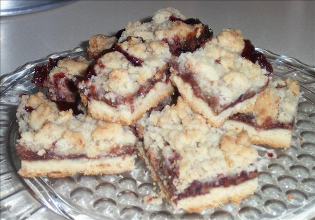 Raspberry Treasure Dream Bars
