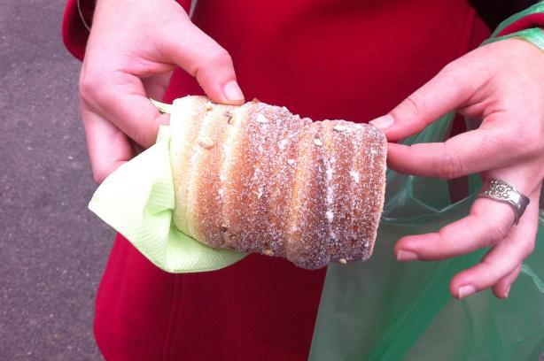 Trdelnik - Slovak/Czech Sweet Pastry