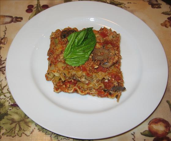 Herbed Tofu Lasagna With Zucchini