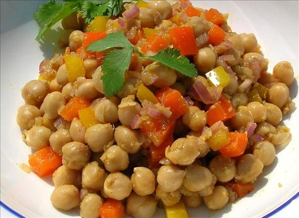 Chickpea Salad With Ginger
