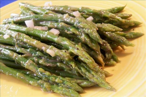 Lemon Asparagus - 3 Weight Watchers Points