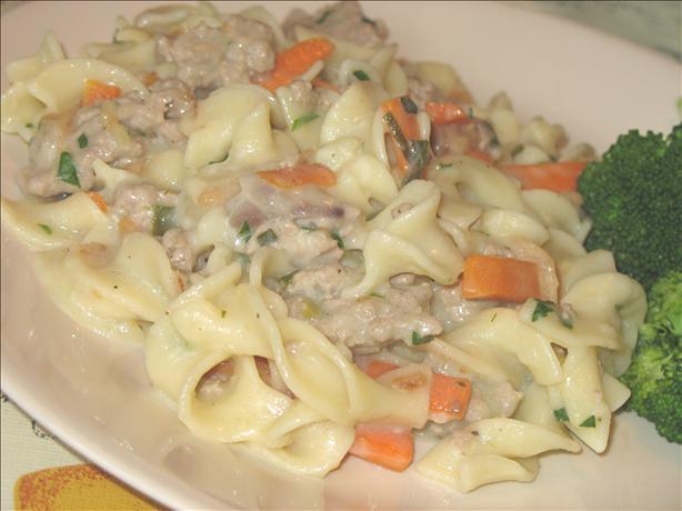 Leftover Vegetable Noodle Stew