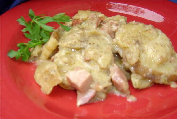 Creamy Ham and Potatoes
