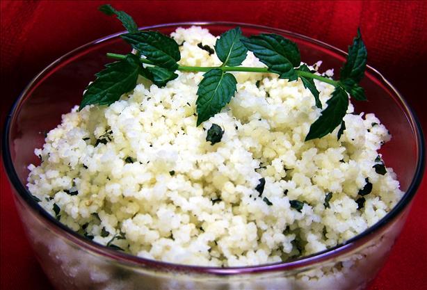 Moroccan Lemon Mint Couscous