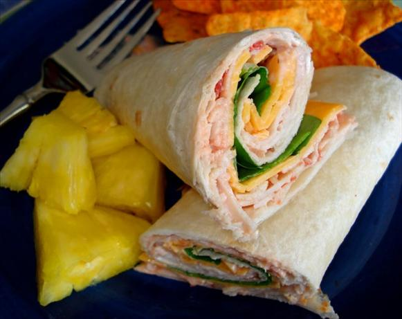 Turkey Wrap With a Kick