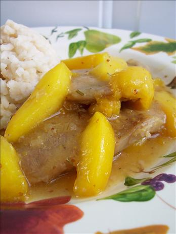 Peach Glazed Pork Chops (Oamc)
