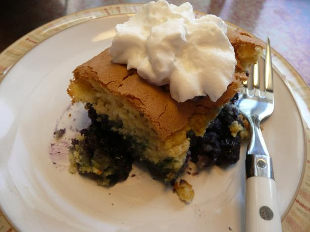 Bubublueberry Upside Down Cake
