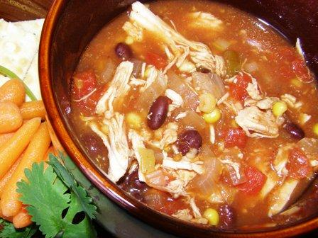 Melissa's Chicken Tortilla Soup