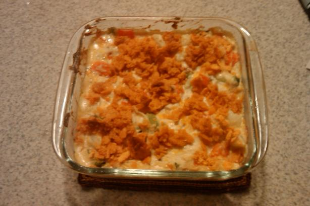Cheddary Vegetable Gratin