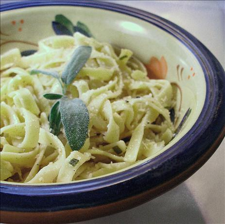 Buttered Noodles With Fresh Sage