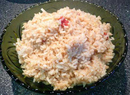 Garlicky Rice