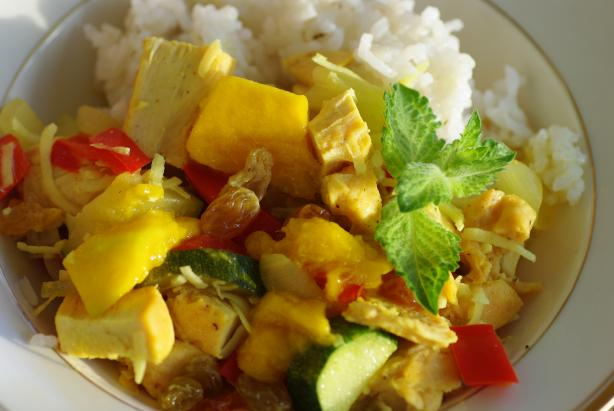Typically Tropical Mango Chicken