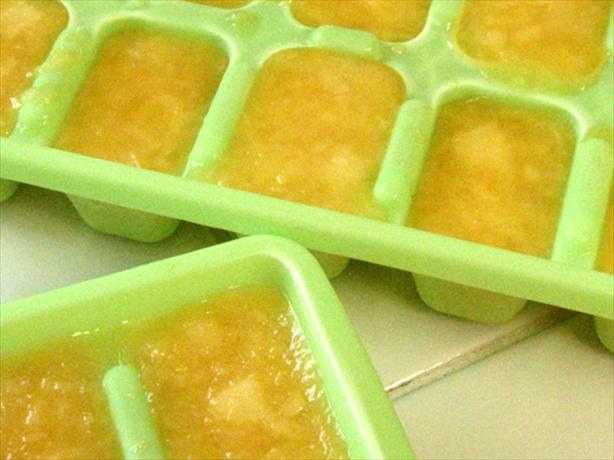 Ginger Ale Ice Cubes