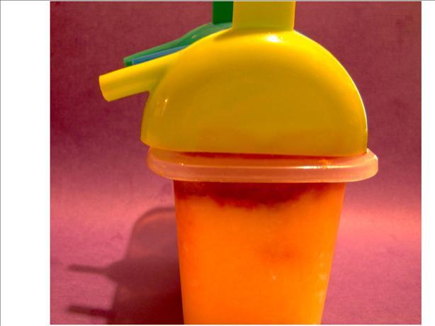 Frozen Peach Cranberry Yogurt Pops (Kid Friendly)