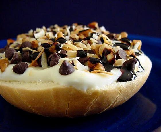 Individual Dessert Pizza