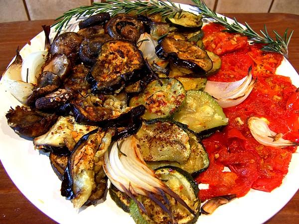 Mediterranean Vegetable Bake