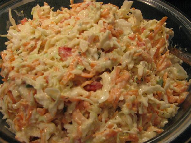 Bo's Coleslaw from One World Cafe