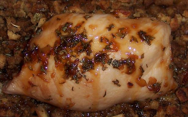 Maple Glazed Chicken Roll-Ups