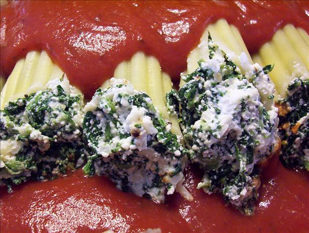 Kid Pleaser Vegetarian Manicotti