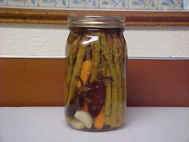 Pickled Chipotle Asparagus