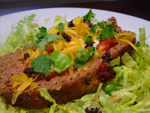 Spicy Tex Mex Meatloaf