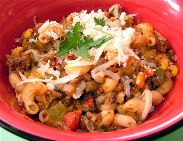 Kelly's Kitchen Sink Goulash!
