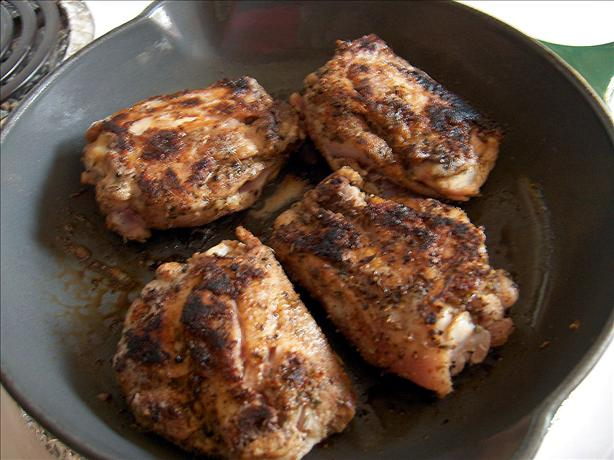 Jamaican Chicken Thighs