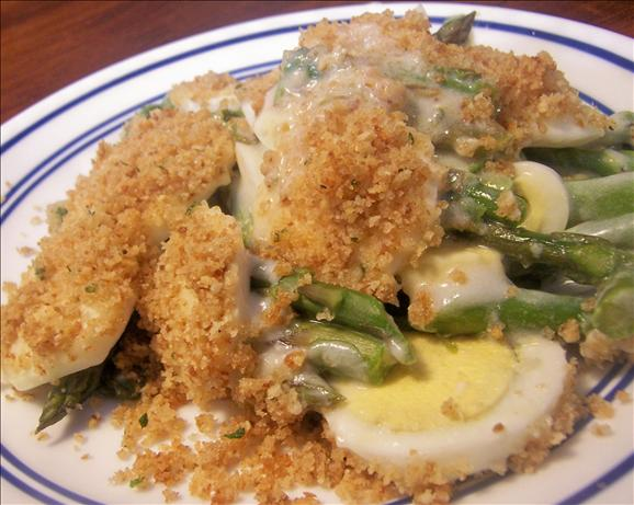 Creamy Fresh Asparagus Casserole