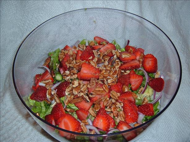 Spring Mix Strawberry Asparagus Salad