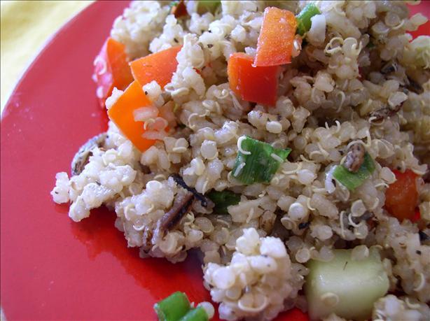 Wild Rice Quinoa Garden Salad