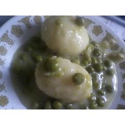 Mom 's Creamed Peas and Potatoes