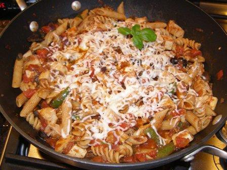 Italian Chicken and Penne
