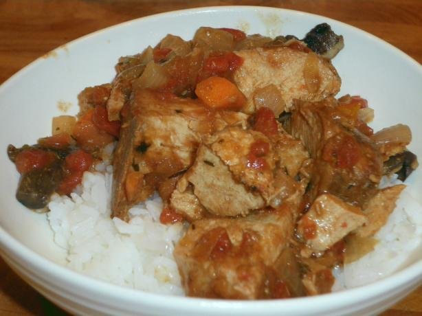Crock Pot Pork Marengo