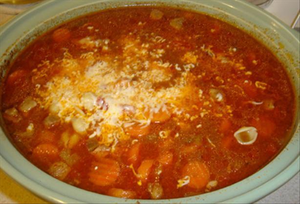 Beef Orzo Soup