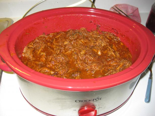 Delicious Crock Pot Barbecued Pulled Pork