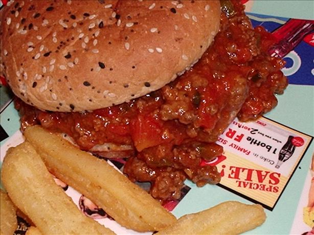 Throw Together Sloppy Joes