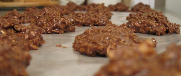 Mud Cookies - Aka - Chocolate No Bake Cookies
