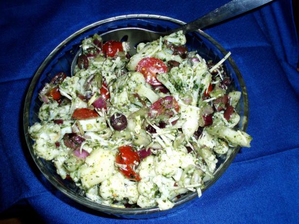 Cauliflower Parmesan Salad Basilico