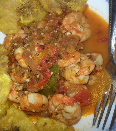 Camarones Enchilados - Deviled Shrimp