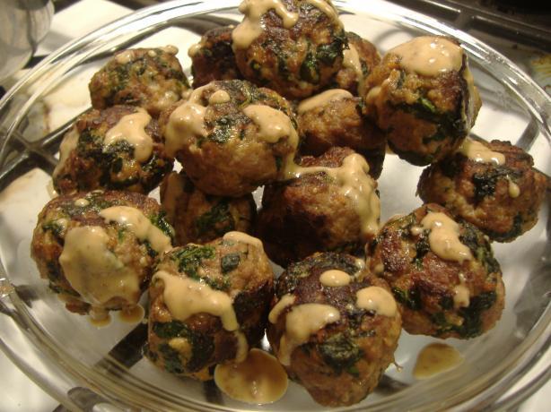 Florentine Meatballs