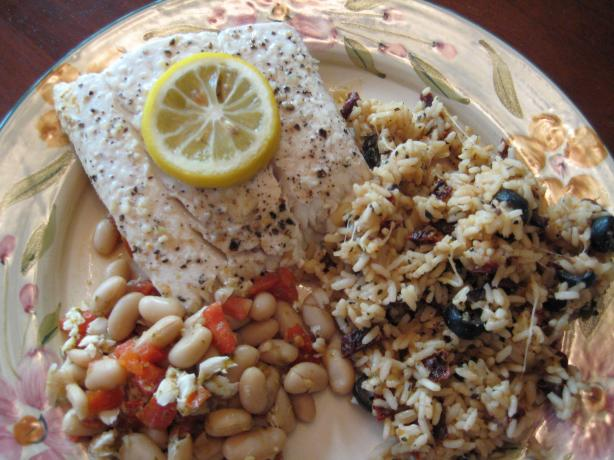 Tuscan Halibut for Two