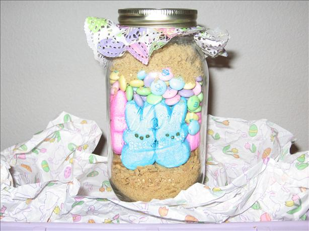 Easter Bunny S'mores in a Jar