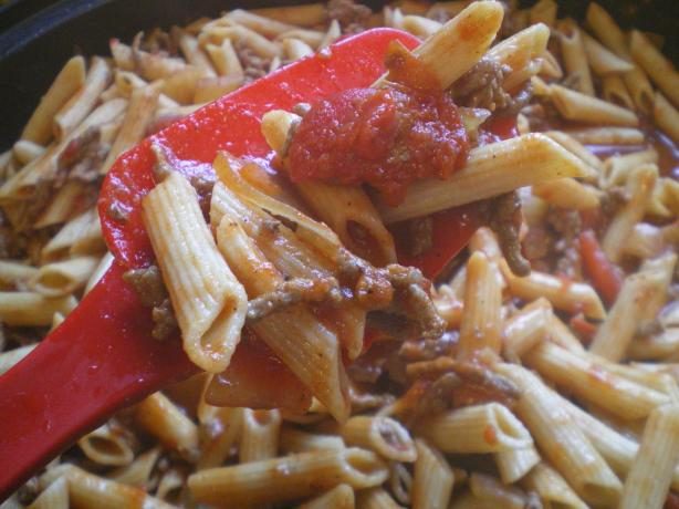American Chop Suey (Aka - Escalloped Macaroni)