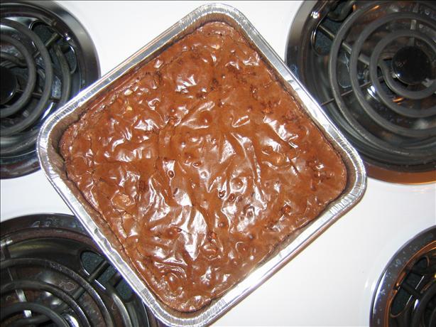 Cinnamon Chocolate Chip Brownies