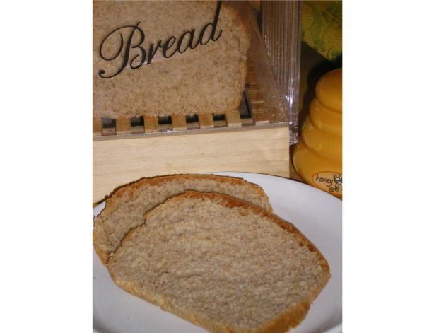 Honey-Whole Wheat Bread
