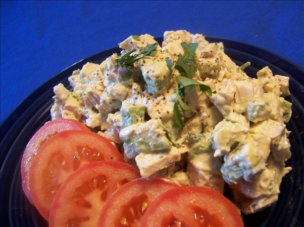 Chicken Avocado Salad