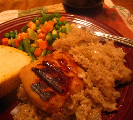 Elliott Sadler's BBQ Chicken and Brown Rice