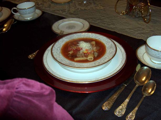 Sirloin Soup Italiano