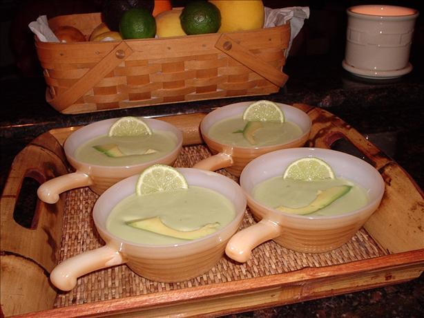 Avocado and Lime Soup
